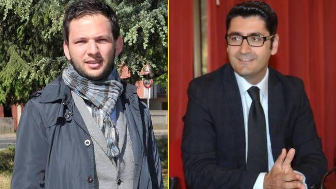 Marco Segala e Alessandro Lorenzano, al ballottaggio a San Giuliano