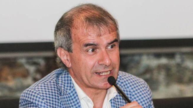 Il presidente del Sondrio Oriano Mostacchi