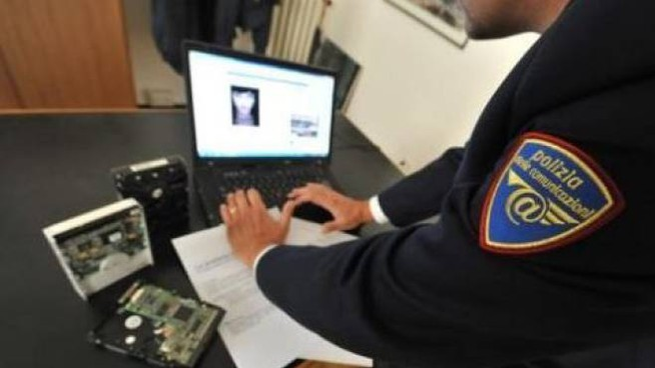 Polizia postale in azione