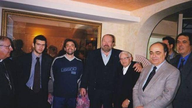 Bud Spencer e padre Nike