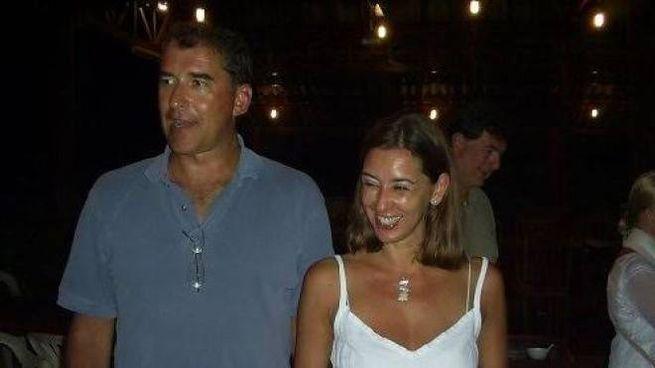 Gian Galeazzo Boschetti e la moglie, Claudia D'Antona, morta nell'attacco
