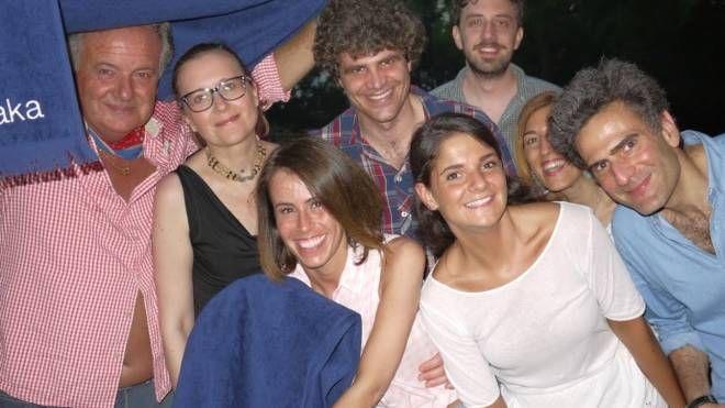 Alcuni partecipanti alla serata di degustazione