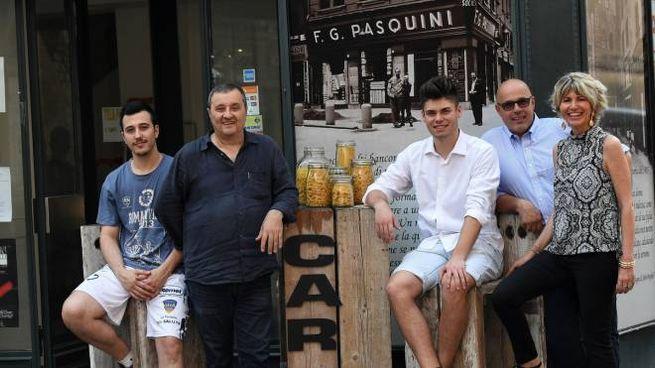 Samuel e Francesco Mafaro, Matteo Tonelli, Giacomo Della Villa e Trilli Zambonelli