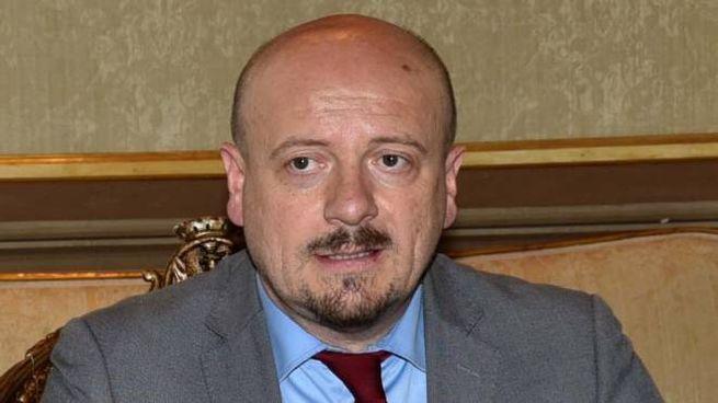 Il sindaco di Forlì Davide Drei (foto Fantini)