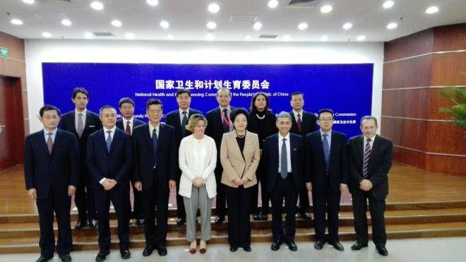 Una delegazione cinese ricevuta a Roma
