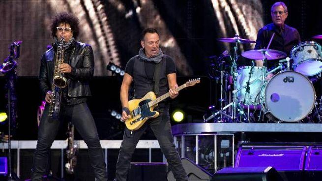 Bruce Springsteen al Circo Massimo (Ansa)