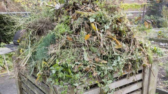 Il compostaggio (foto archivio)