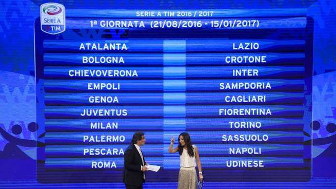 Calendario Partite Empoli.Calendario Completo Serie A 2016 17 Tutte Le Giornate E Le