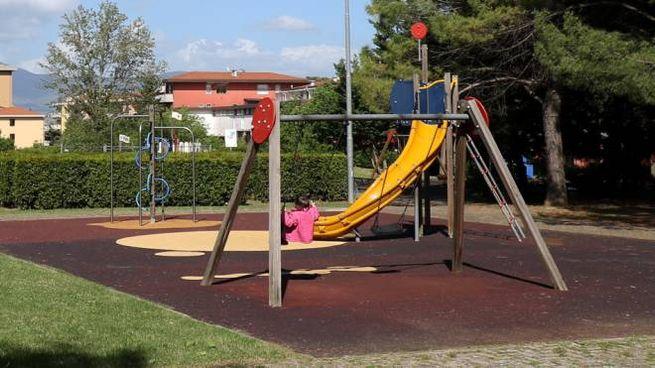 Un'altalena in un parco (Foto d'archivio Germogli)