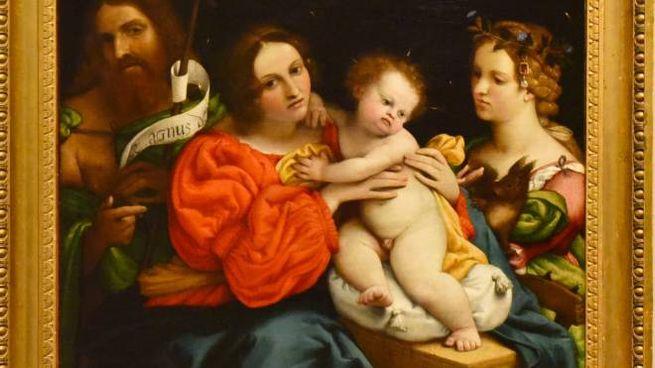 Lorenzo Lotto 'Madonna con bambino'
