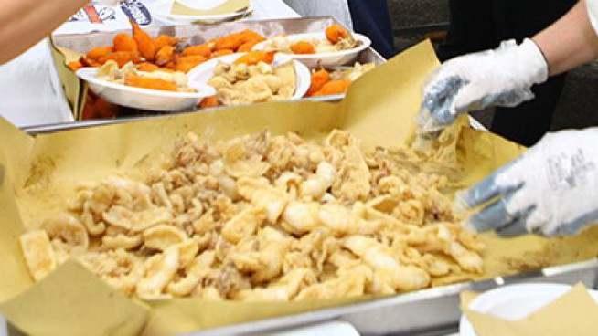 Pesce fritto (foto d'archivio)