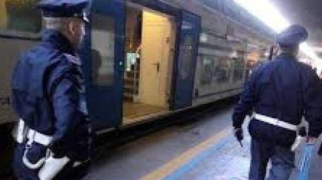 Polizia ferroviaria (foto di repertorio)