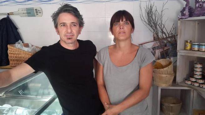Stefano e Michela, i genitori della piccola Gaia
