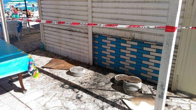 Numana, incendio devasta la cucina del ristorante La