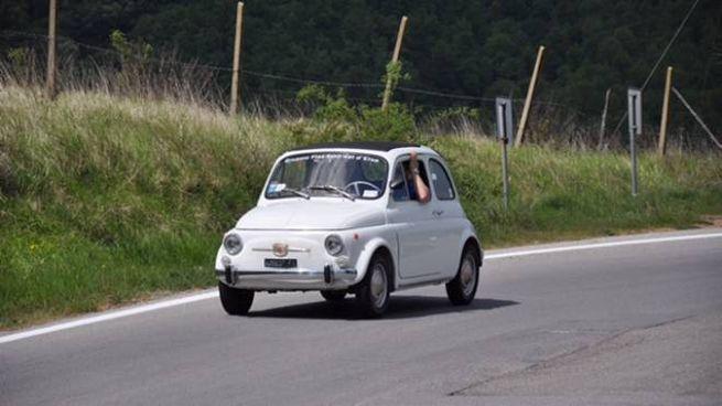 Una delle mitiche Fiat 500