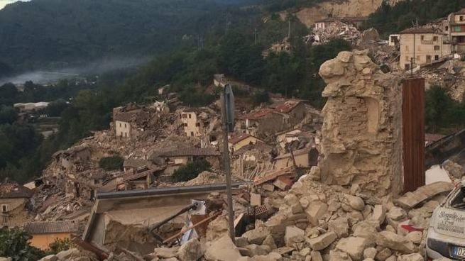 Le macerie del sisma
