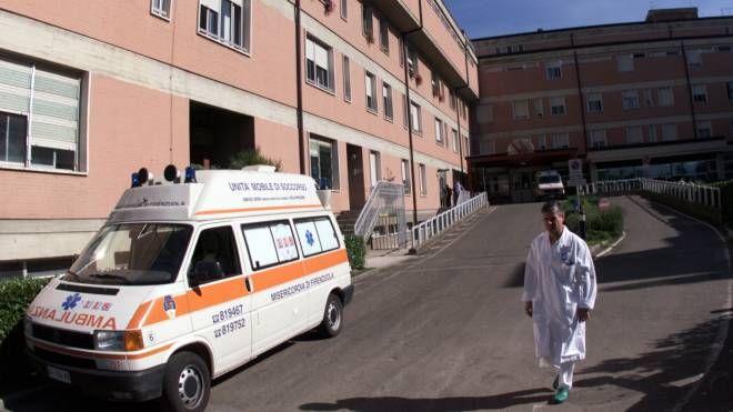 L'ospedale del Mugello a Borgo San Lorenzo (foto Germogli)