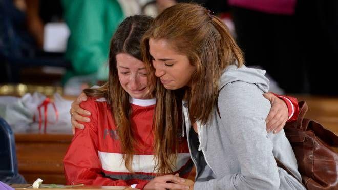 Amatrice, i funerali delle vittime del terremoto (Imagoeconomica)