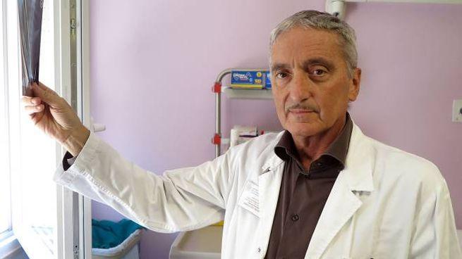 Domenico Samorani, chirurgo del seno (foto Bove)
