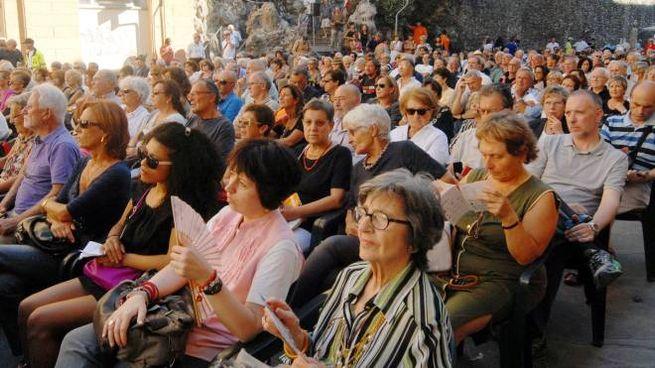 Il pubblico dell'edizione 2015 di Con-Vivere (foto d'archivio)