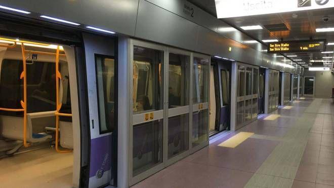 La metropolitana lilla