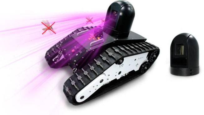 Il carro armato antizanzare cinese - foto LeiShen Intelligent