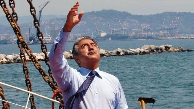 Il presidente dimissionario dell'Autorità portuale della Spezia Lorenzo Forcieri