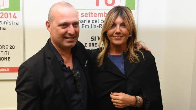 Stefano Bonaccini con la moglie Sandra (FotoSchicchi)