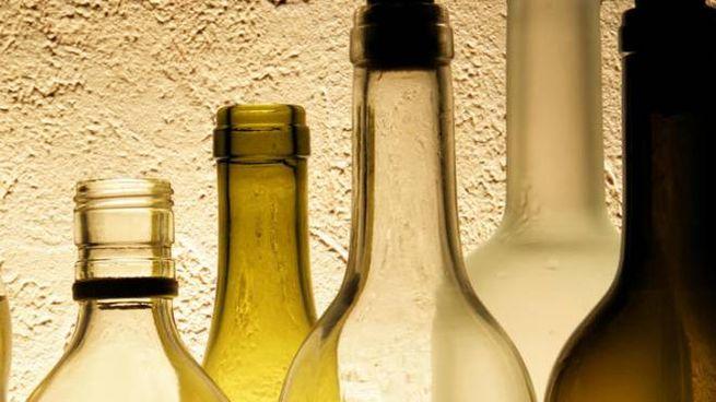 Delle bottiglie di superalcolici