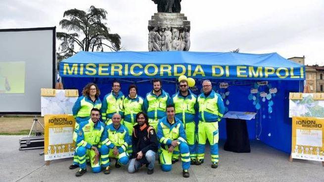 I volontari della Misericordia di Empoli