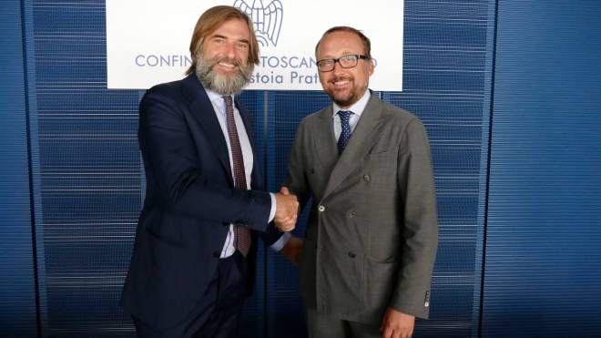 Andrea Cavicchi ed Ercole Botto Poala