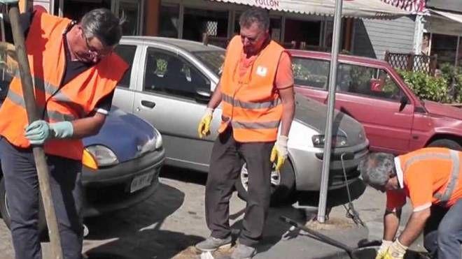 Lavori stradali (immagine di repertorio)