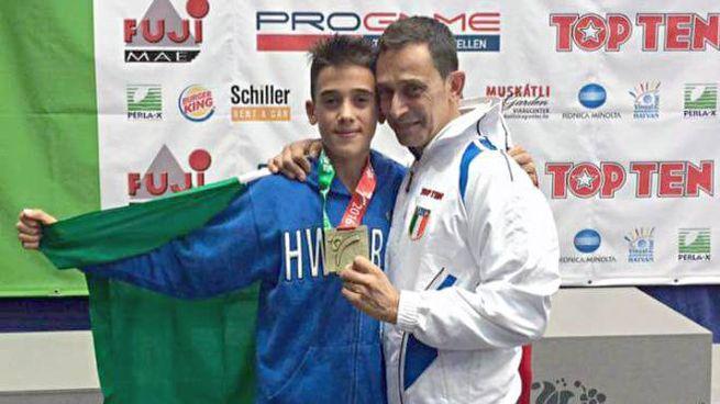 Lucas Saccomanno, orgoglio di casa