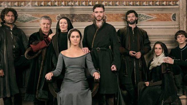 Il cast della serie tv I Medici – Foto: Rai Fiction/Lux Vide/Big Light Productions