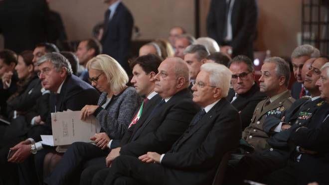 Il presidente Mattarella agli Stati Generali della lingua italiana (Moggi/New Press Photo)