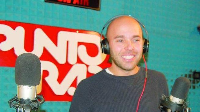 Lorenzo Rossi negli studi di Punto Radio