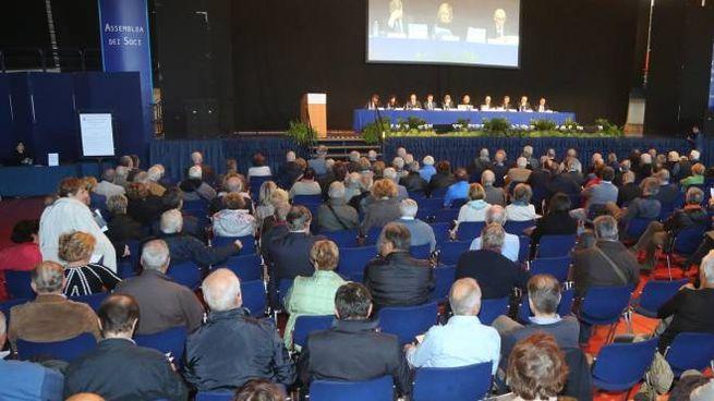 L'assemblea dei soci al Carisport