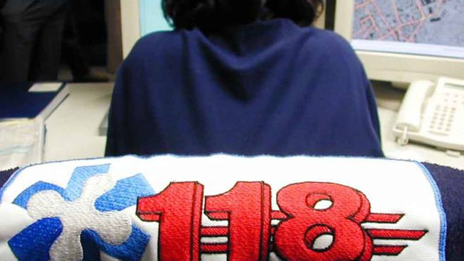Sala operativa del 118