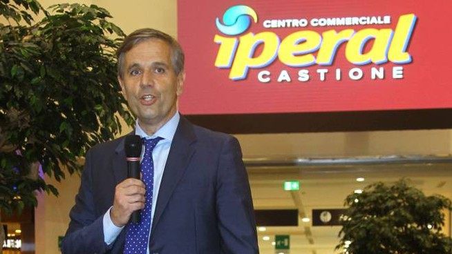 Antonio Tirelli, presidente del Gruppo Iperal (Nat.Press)
