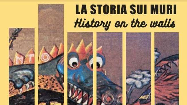 """La locandina di """"La storia sui muri - History on the walls"""""""