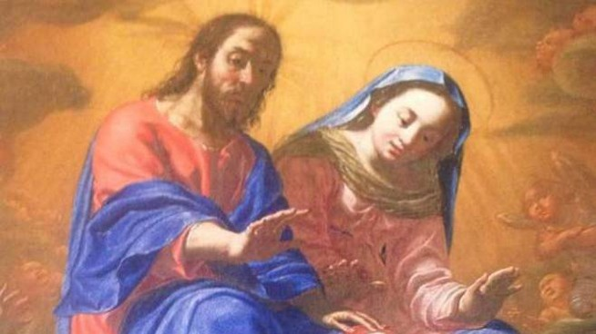 Il 'Perdono di Assisi' (1631) del pittore francese Jean Lhomme (da Fecbook)