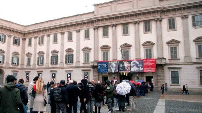 Palazzo reale a Milano (Newpress)