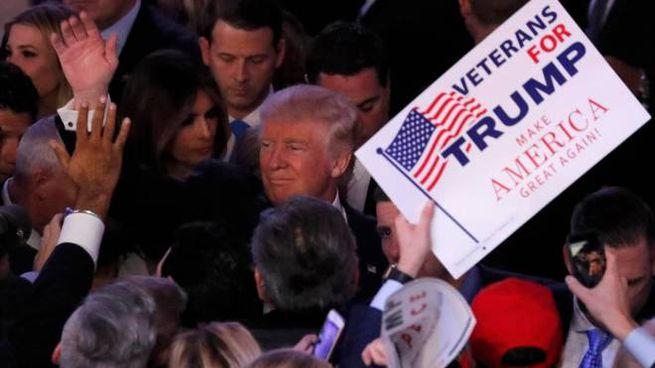 Donald Trump 45° presidente degli Stati Uniti (Lapresse)