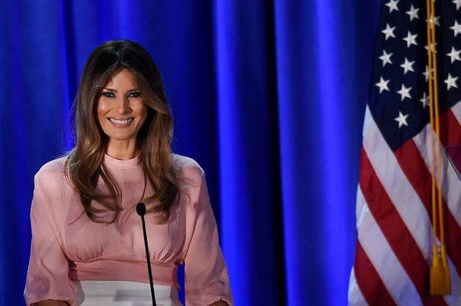 Melania Trump, lo stile della nuova first lady