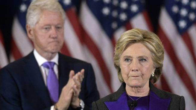 Hillary e Bill Clinton (Olycom)