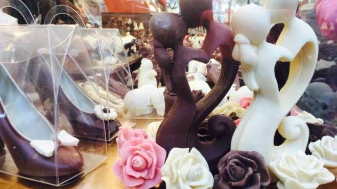 Originali creazioni al cioccolato create da maestri cioccolatieri