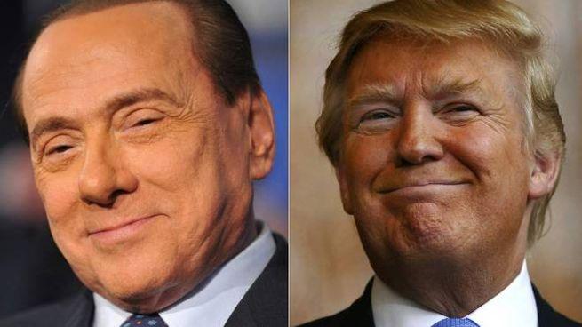 Un combo che avvicina Berlusconi a Trump (Afp)