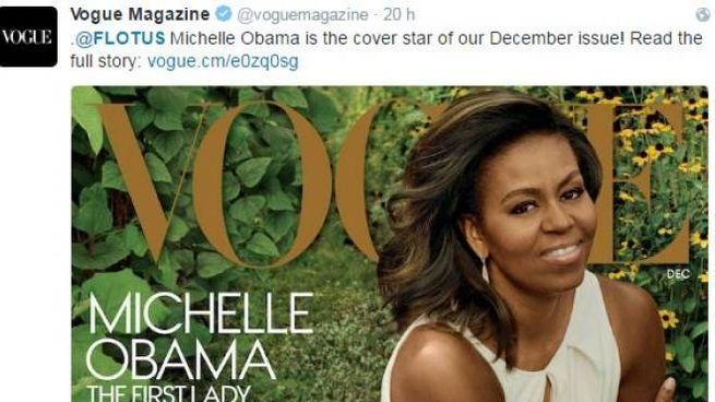 Michelle Obama, terza e ultima copertina su Vogue da first lady