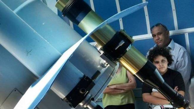 Osservazioni al telescopio all'osservatorio di Pian de' Termini