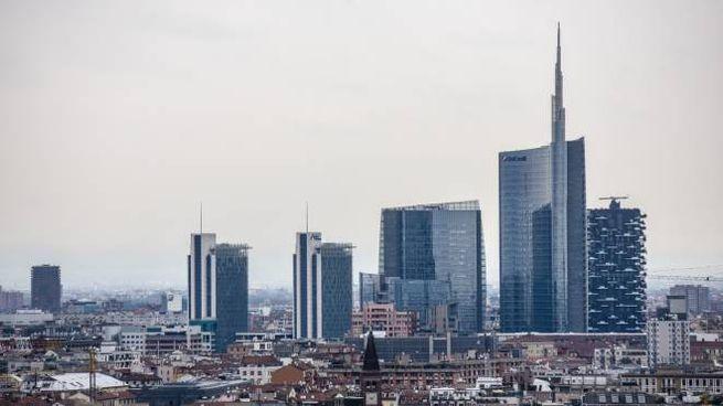 Skyline di Milano (Newpress)